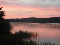 Tuesday Canoe Overnight - Sunset Over Nimm's Lake