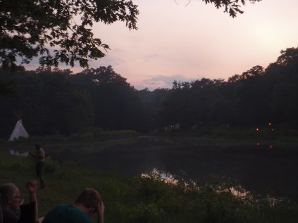 OA Tap Out - View Across The Cove - Dusk Setting In