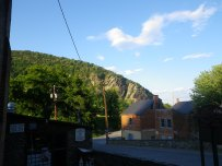 View of the mountains from Harpers Ferry