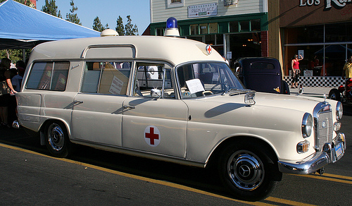 Ambulance uit 1970