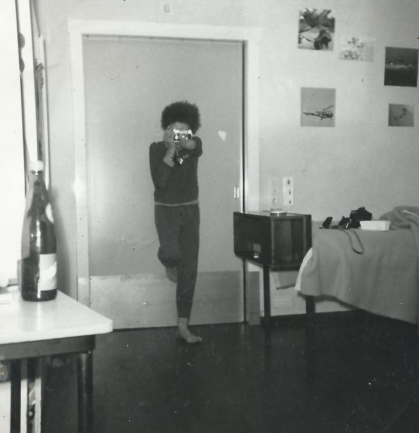 foto onze slaapkamer derde verdieping flat