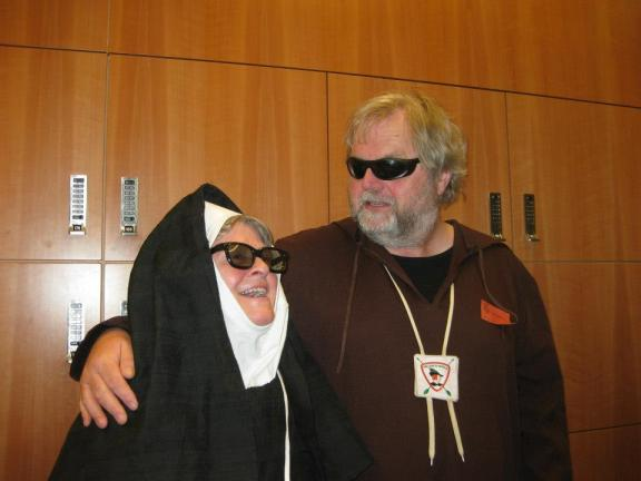 foto Broeder Tuck en zuster Margaretha