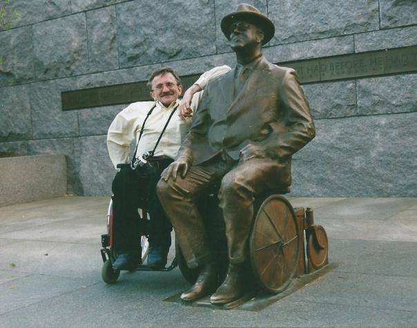 Roosevelt en jan gebroederlijk naast elkaar