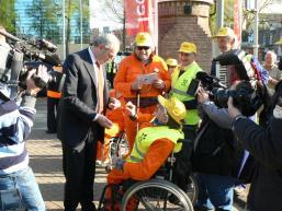 Mantelzorger Job Cohen PvdA congres Nijmegen