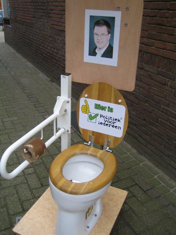 Prototype Mobiel toilet kun je wel goed op zitten!