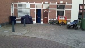 Nu parkeerplaats voor de voordeur
