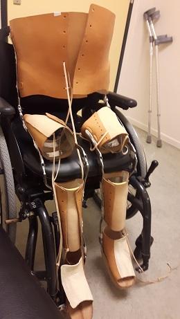 beugels met rolstoel
