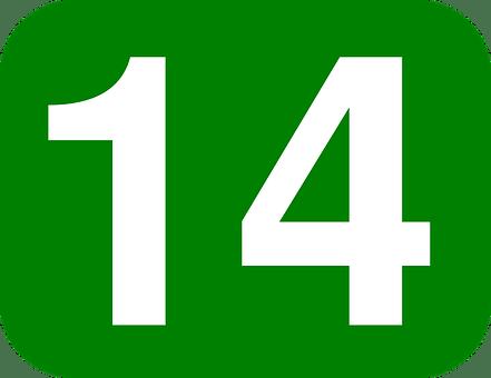 nombre de chance 14