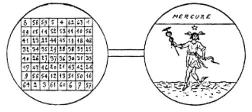 carré de Mercure