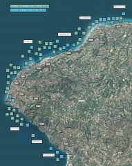 Die Strände der costa degli dei.JPG