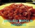ricetta cipolla,come si prepara la cipolla in agrodolce,cipolla,contorni,ricetta tropeana,le ricette tipiche di tropea,
