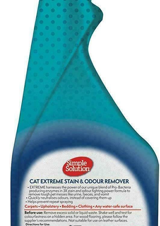 Simple Solution Ekstrem flekk og lukt fjerner til katt