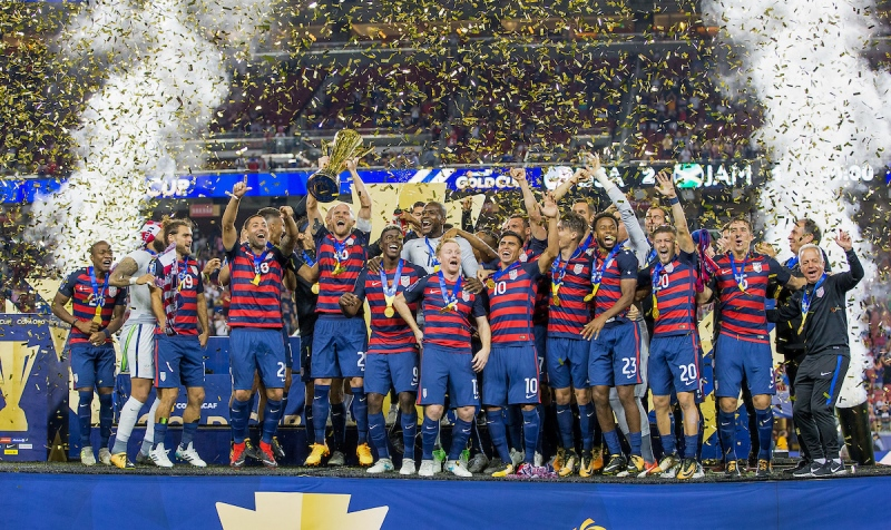 USMNT Wins 6th Gold Cup