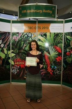 Tremie Gregory Bacardi Award 2013