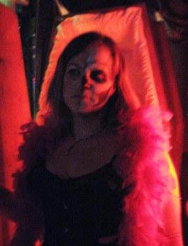 Pretty. Spooky