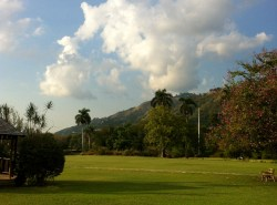 Where the Liguanea Plain meets the Blue Mountains
