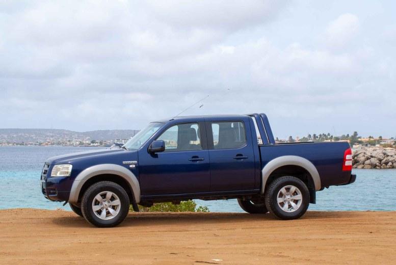 Tropical car rental Bonaire - Ford F150