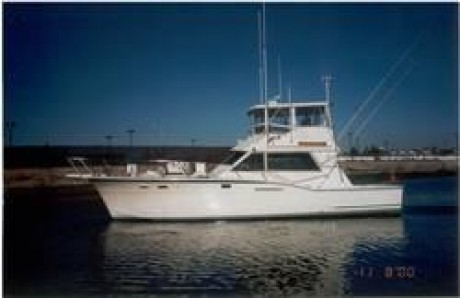 46 Foot Hatteras Sport Fishing YachtSailing Charters Miami