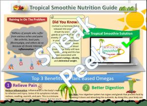 Tropical Smoothie Nutrition Omegas Halfsie