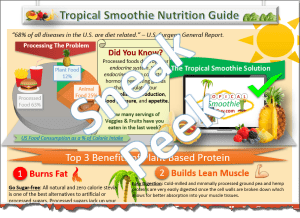 Tropical Smoothie Nutrition Protein Halfsie