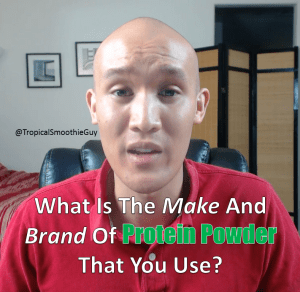 Make and brand of protein powder