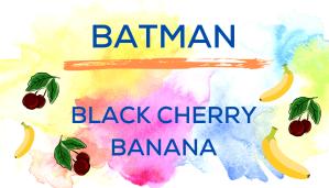 Shaved Ice Flavors-Tropical Sno Peoria-BATMAN: bright black cherry, sweet banana.