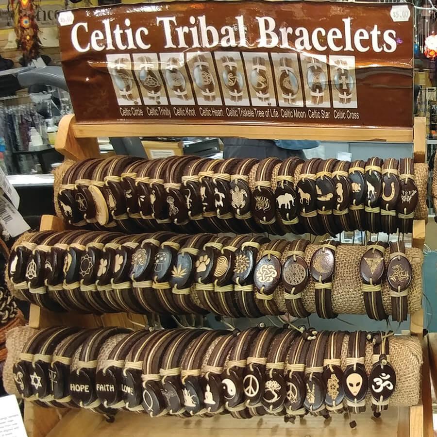Celtic Tribal Bracelets with Tropical Trends Columbus Ohio