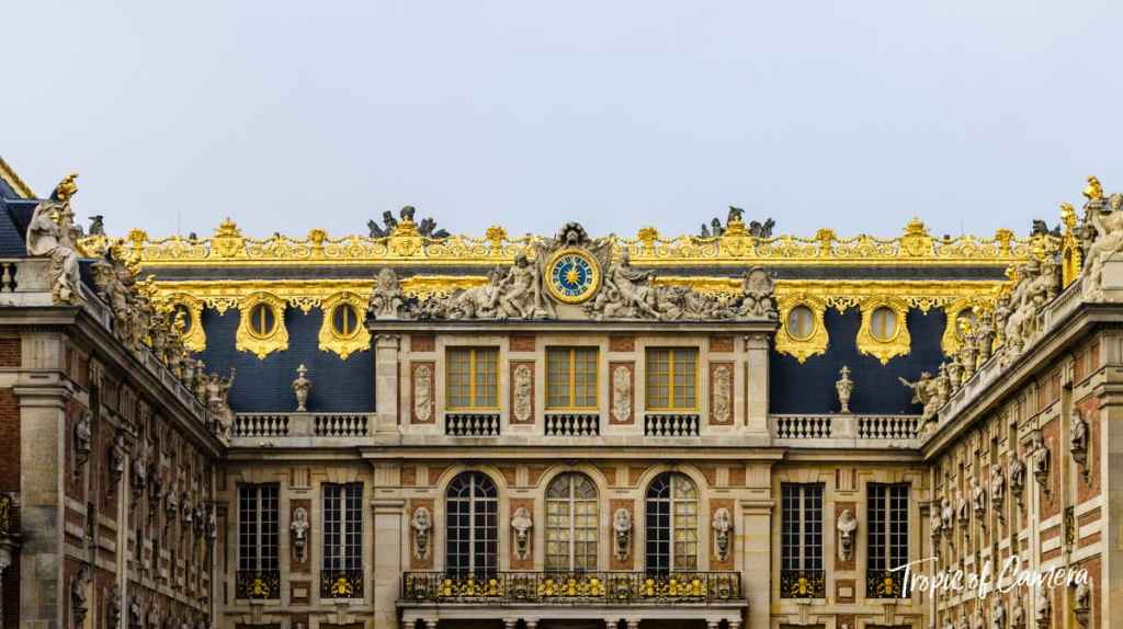 The Palace of Versailles in Paris