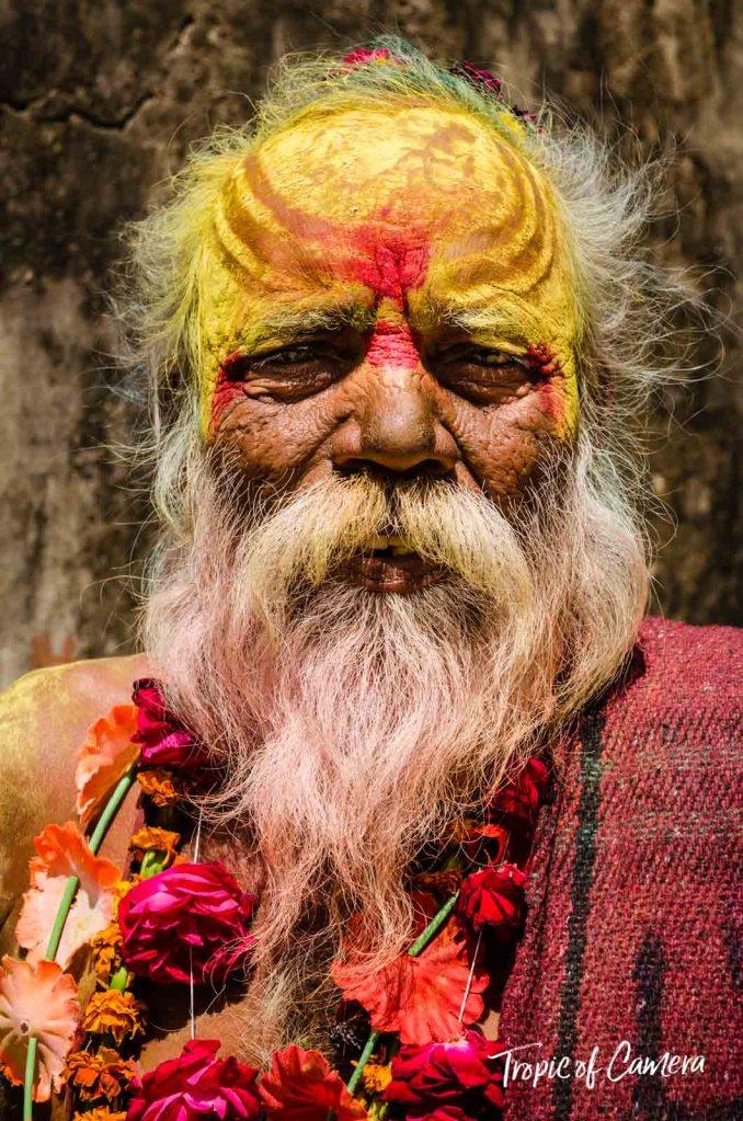 Indian holy man at Orchha