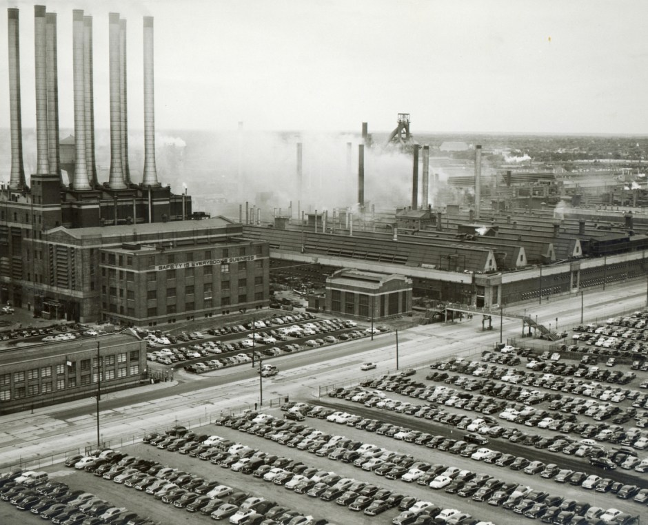 The legendary River Rouge plant