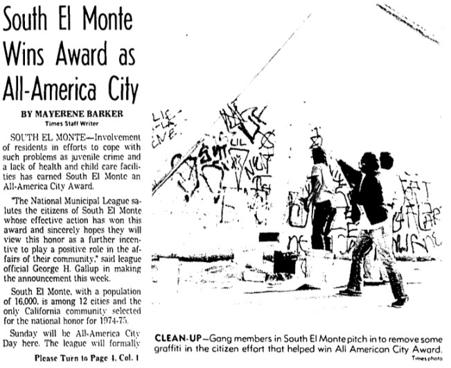 South El Monte wins All America City award