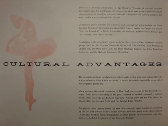 Cultural advantages
