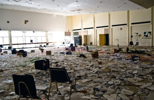 detroit school closed ruins