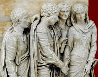 marriage relief ancient rome