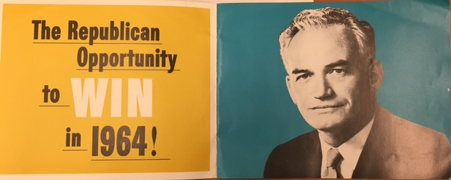 Barry Goldwater Campaign Pamphlet 1965 courtesy William A Rusher Papers, Manuscript Division, Library of Congress, Washington D.C.