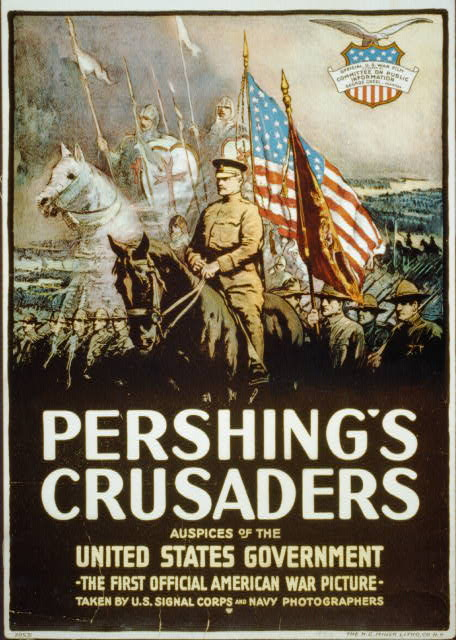 Pershing's crusaders--Auspices of the United States government / The H.C. Miner Litho. Co. N.Y, World War One Posters, Prints and Photographs Division, Library of Congress