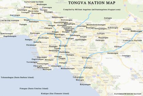 Ancient Tongva villages
