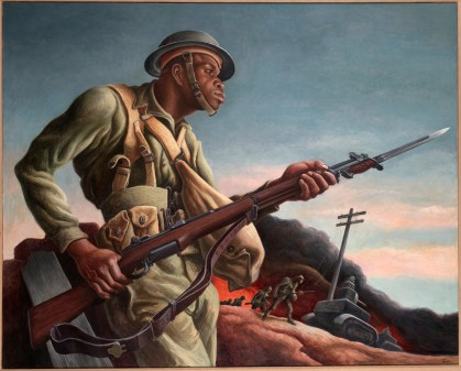 thomas hart benton black soldier
