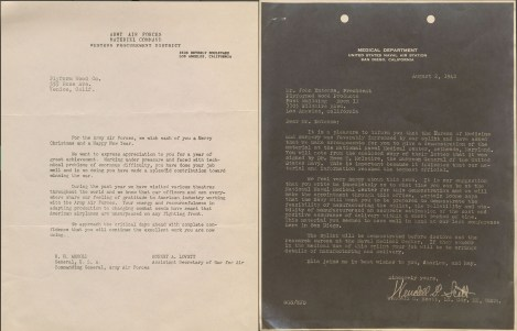 Letters courtesy of the Charles and Ray Eames Papers, Manuscript Division, Library of Congress