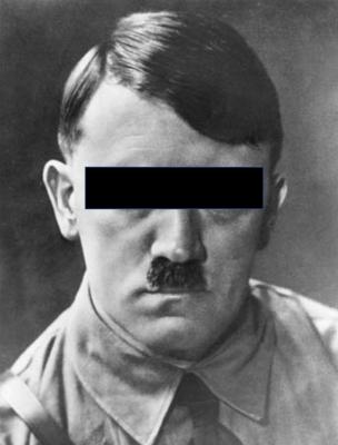 hitler eyes covered