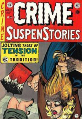 infamous cover of crime stories