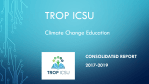 TROP ICSU Consolidated Report