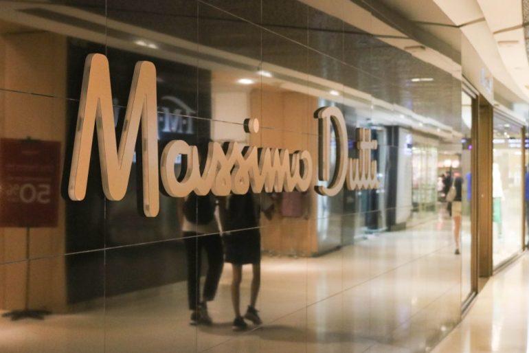 Massimo Dutti store Singapore