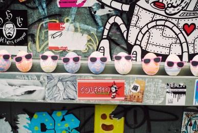 Berlin nie jajkami...