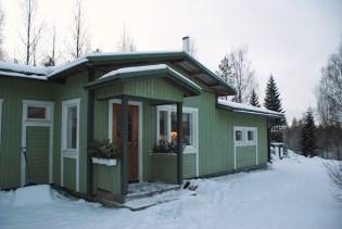 W środku czeka sauna...