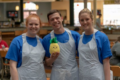 Team Pineapple Perfection (Hospitality and Tourism Club)