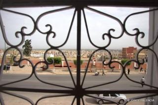 VISTAS DESDE LA VENTANA DEL HOTEL EN BENI MALLAL