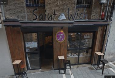 Saintwich entrada
