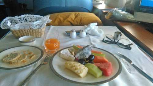 thai airways first class food