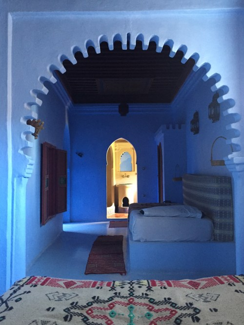 chefchaouen - morocco - hotel - room